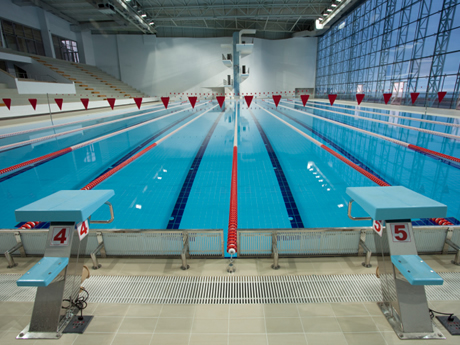 what makes a pool fast olympic size swimming pool design - Olympic Swimming Pool 2014