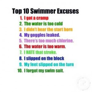 swimmer excuse